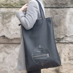 SHOPPER BLACK CIRCLE XL